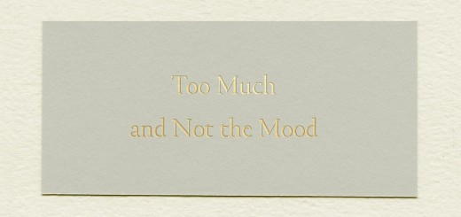 Too Much and Not the Mood by Durga Chew-Bose