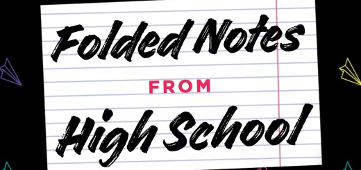Folded Notes from High School by Matt Boren