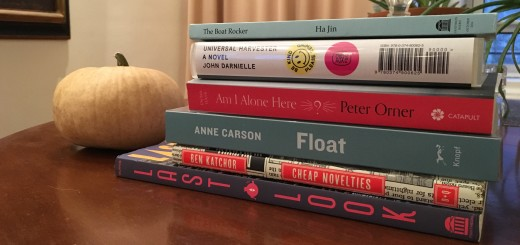 October 2016: Books to Read and Review
