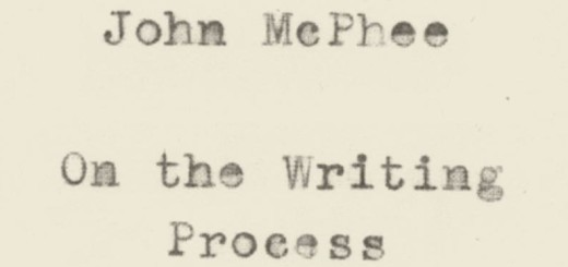 Draft No. 4 by John McPhee